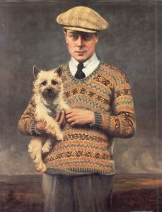 HRH Edward Prince of Wales 1921 Sir Henry Lander Traditional Knitting Michael Pearson storia e tecnica