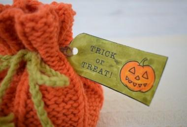 Halloween Pumpkin Candy Purse Elena Varnavskaya Halloween a maglia e uncinetto
