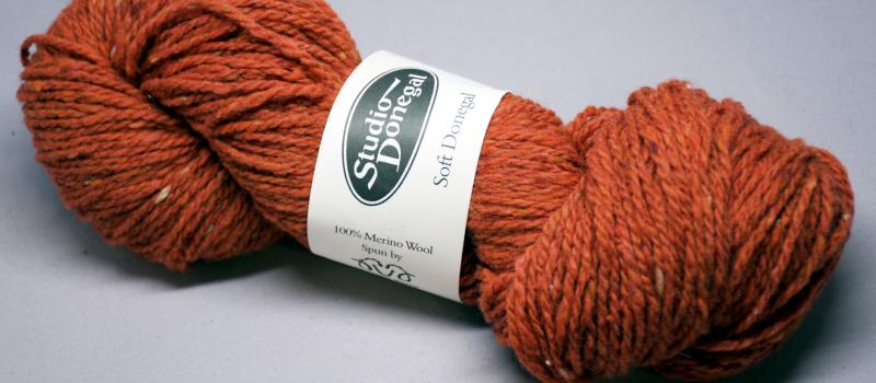 Matassa di lana weed arancione