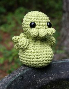 Cthulhu NeedleNoodles Creepy Cute Crochet ebook