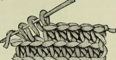 Come eseguire la maglia alta in una immagine d'epoca