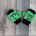 muffole a maglia per bambini