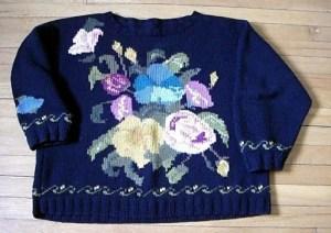 Il primo maglione di Annie Modesitt era questo modello