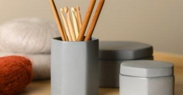 Vaso e ciotola in ceramica