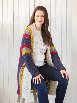 Cardigan Go Big or Go Home di Sandi Prosser