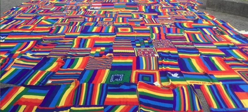 Una delle coperte di VivaVittoria