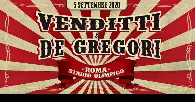 De Gregori e Venditti insieme allo Stadio Olimpico
