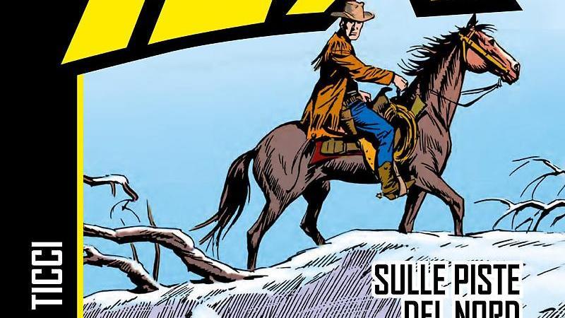 """""""Tex – Sulle piste del Nord"""", nuova avventura da Sergio Bonelli"""