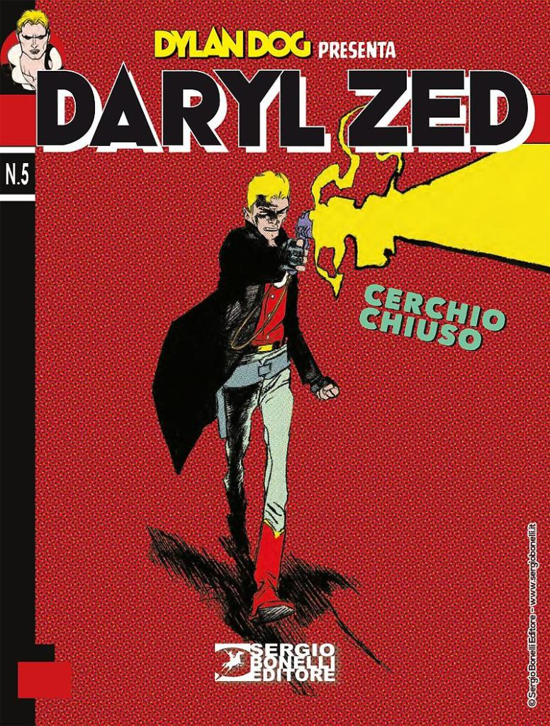 Dylan Dog- Daryl Zed Bonelli cover