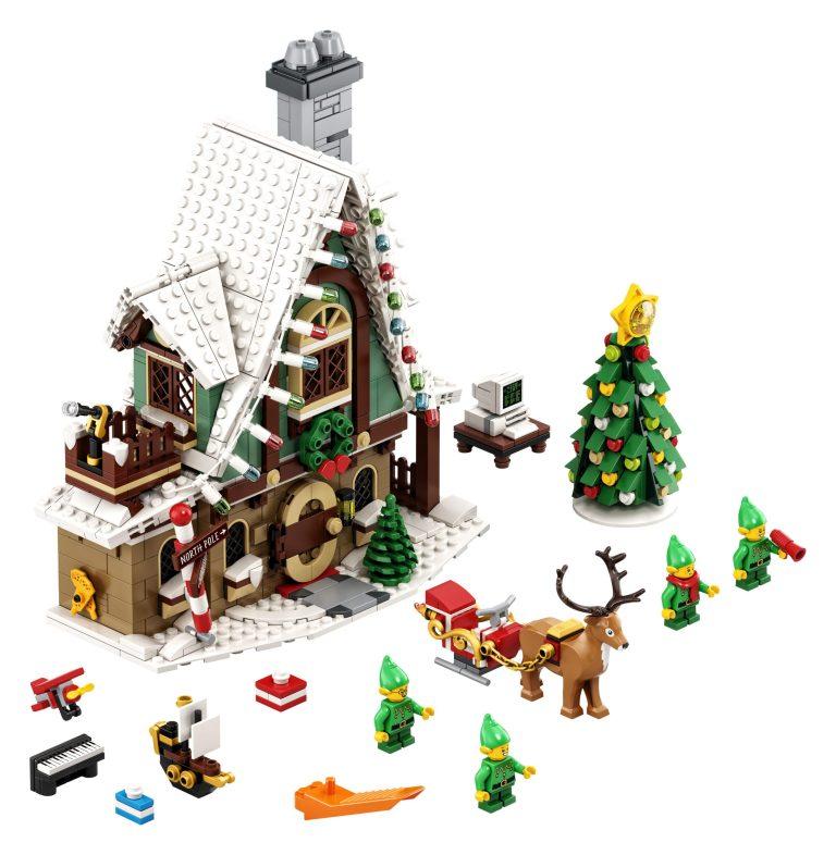 Elfi di Babbo Natale, arriva da Lego il nuovo cottage dal sapore natalizio