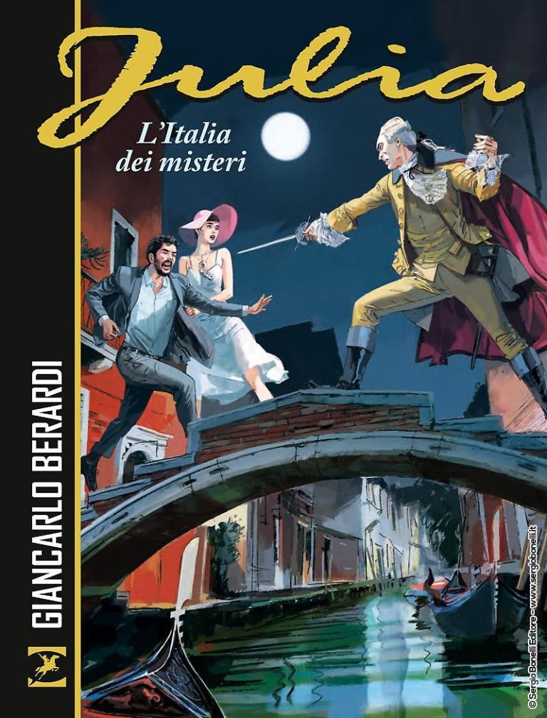 """""""Julia – L'Italia dei misteri"""", una raccolta di tre storie per la criminologa di Garden City"""