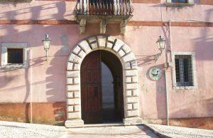Palazzo Giuseppe Ciaburro ingresso