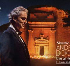 Andrea Bocelli a Hegra Alula