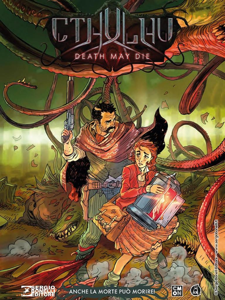 CTHULHU - DEATH MAY DIE cover