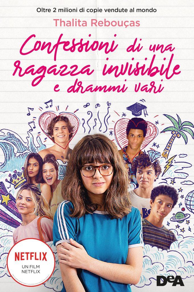 Confessioni di una ragazza invisibile e drammi vari romanzo e film Netflix