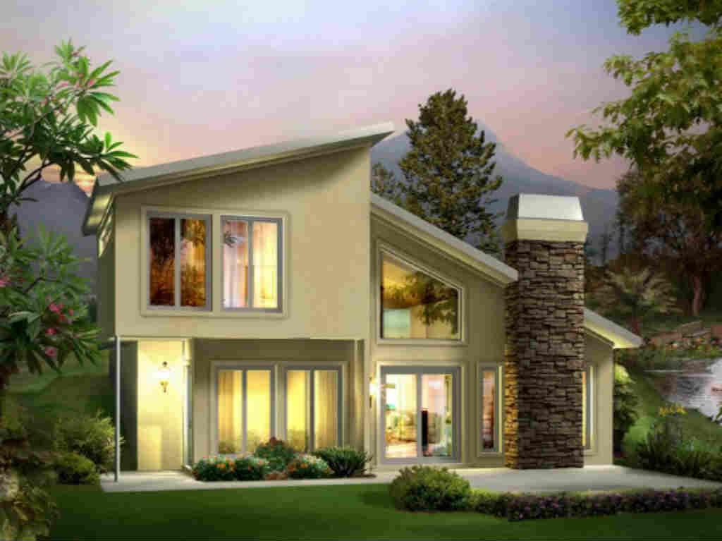 أجمل تصاميم المنازل من الخارج 2017 مجلتك