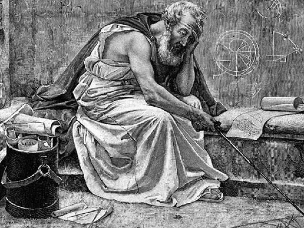 من أعظم علماء الرياضيات والفيزياء حدد قيمة الباي وعرف بقوله يوريكا