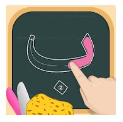 1 – تطبيق كتابة الحروف طريقة تعليم الحروف العربية للأطفال