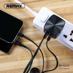 Double chargeur USB et câble de données 2,4 A pour Micro RP-U215