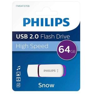 Philips Snow Series Clés USB 2.0 Flash Drive Clés USB 64 Go