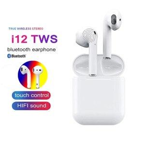 i12 tws Bluetooth Écouteurs avec Tactile