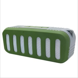 NewRixing – enceinte Bluetooth 3D stéréo, haut-parleur sans fil, caisson de basses, carte memoire, Radio FM, mains libres