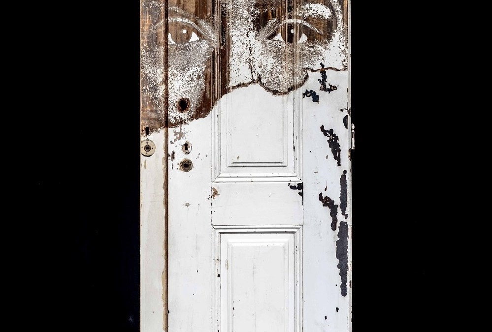 Portal #9 Vhils sculpture solo show Magma gallery