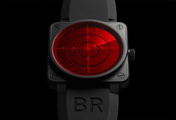 Montre BR01-92 Red Radar de Bell & Ross