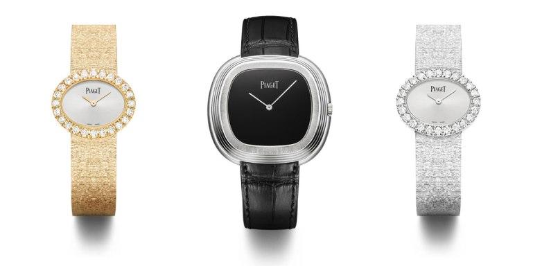 Piaget Black Tie « inspiration vintage » et Piaget « traditionnelle ovale »