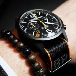 Bell & Ross BR 126 Carbon Orange - Copyright @Bellrosswatches