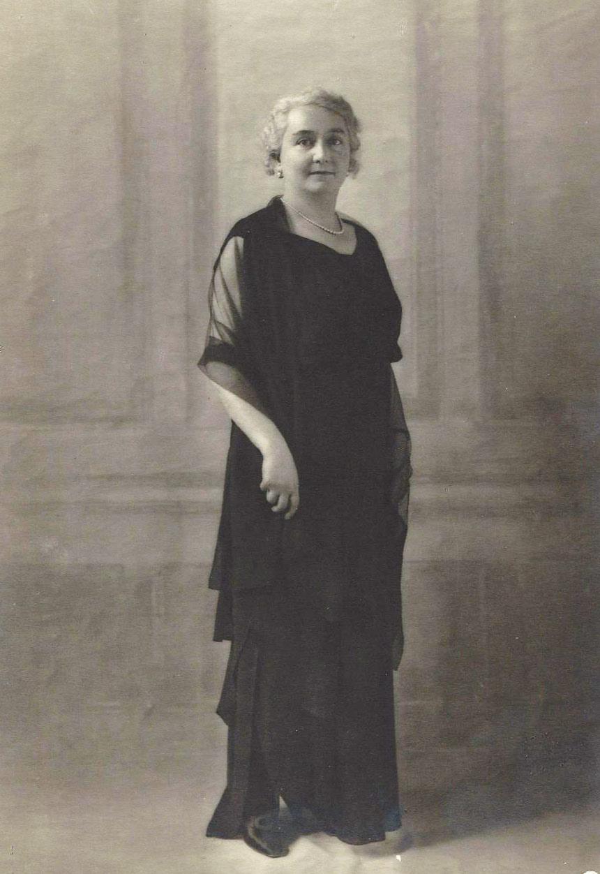 Eugenia Magnani Rocca, una foto degli anni trenta