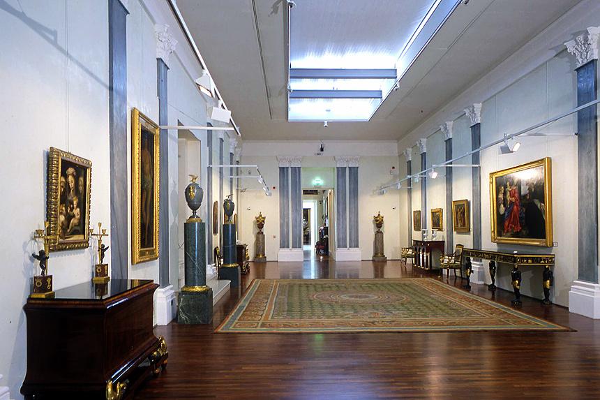 La Villa dei Capolavori. Sala del Tiziano