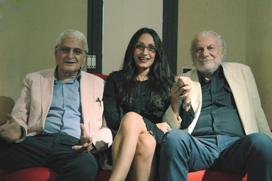 Isotta Langiu con Fernando De Filippi e Umberto Mariani