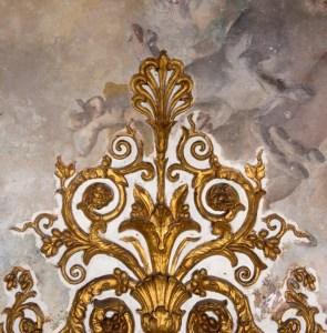 Il dipinto ritrovato nell'Alcova di Maria Amalia di Sassonia