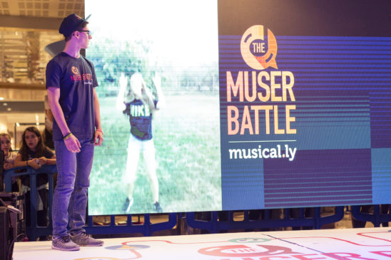 musical.ly: al via in Italia e in Europa THE MUSER BATTLE TOUR
