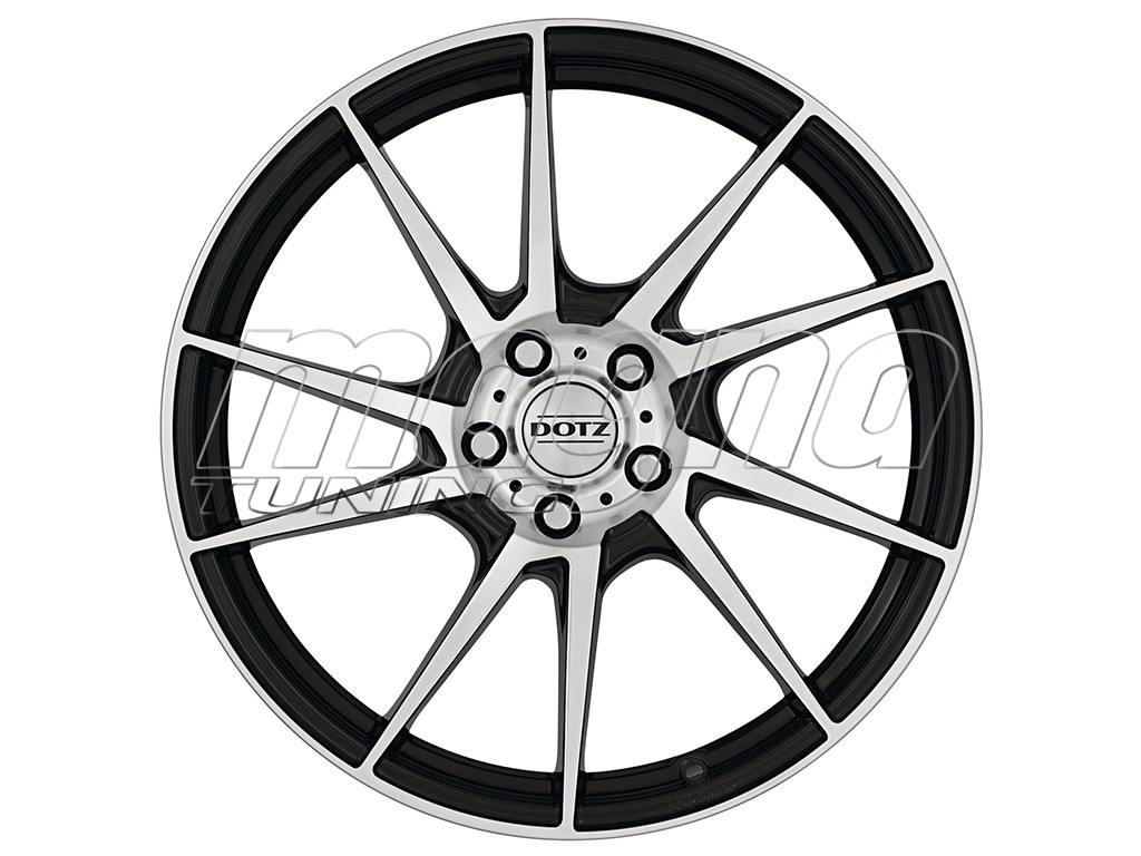 Dotz Kendo Black Polished Wheel