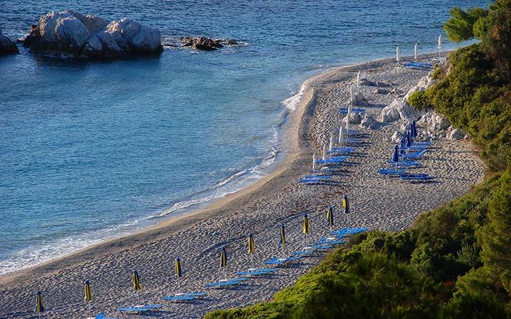Skopelos Island Milia Beach