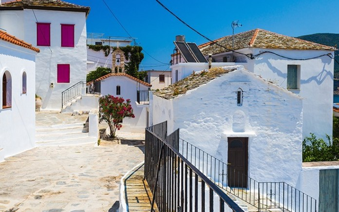 Skopelos Island Xora