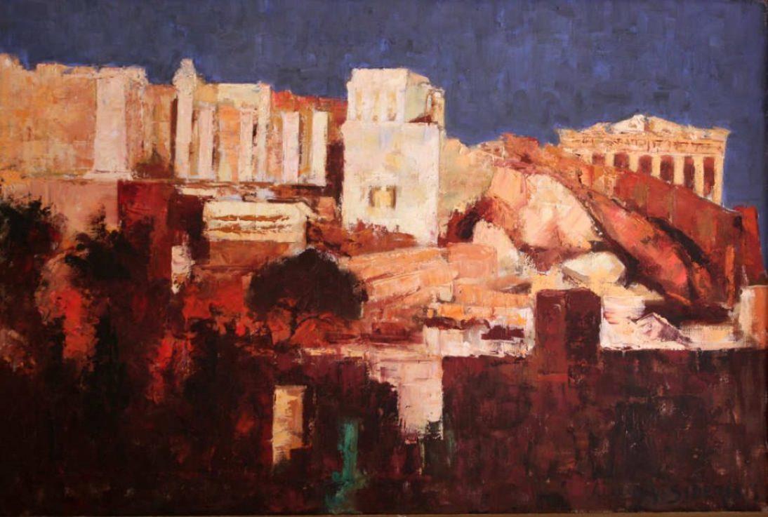 Sideris Acropolis At Night S