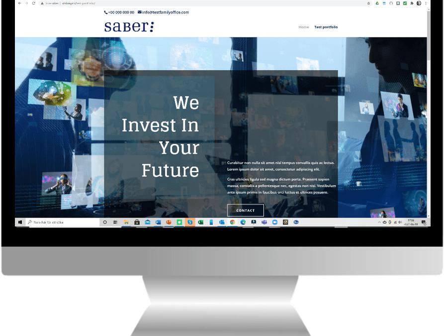 Ny hemsida skapad för investmentbolag i Österike
