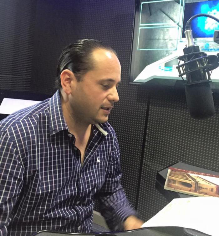 Lic. José Ramón Velazquez Cooper quién es guía de turistas certificado a nivel federal para San Luis Potosí.
