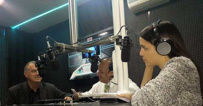 En vivo por Noticieros 7 Radio por magnetica 107.1 Fm con el Presidente de la CANACO Gerardo Zermeño.