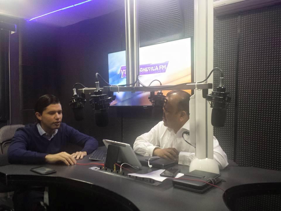 En vivo por Noticieros 7 Radio por Magnética 107.1Fm en entrevista Diputado local Gerardo Serrano Gaviño del partido Verde