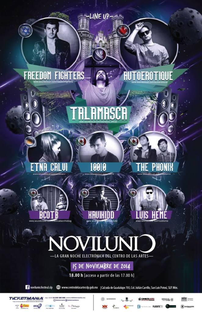 LINE UP_NOVILUNIO