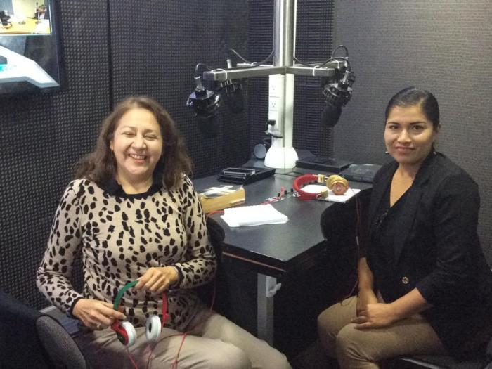 Bella Purata y Martha Veronica de la Iglesia Conquistando Fronteras San Luis Potosí
