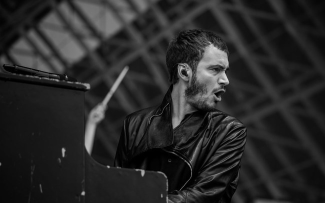 Tom Smith Editors Lollapalooza 2017 Paris