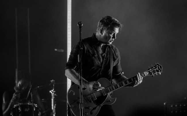 Josh Homme Queens of the stoneage Boston Calling