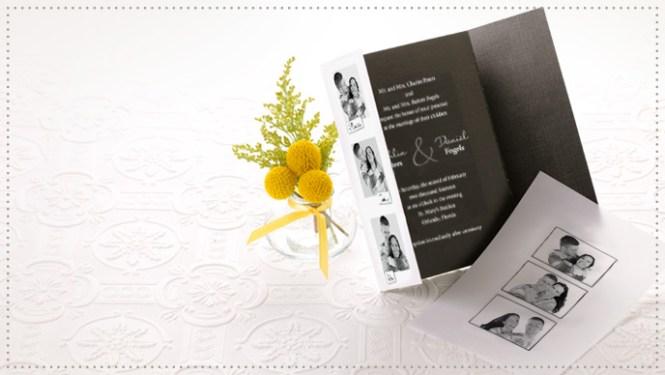 Gate Fold Wedding Invitations Personalized