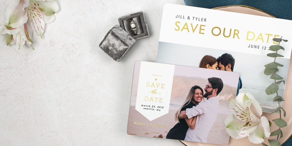 Personalized Save The Dates Amp Wedding Invites