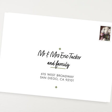 Addressing Wedding Invitations Magnetstreet Weddings